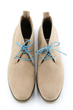 Teal Blue Shoe Laces - Teal Macaroon