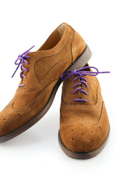 Dark Purple Shoe Laces - Violet