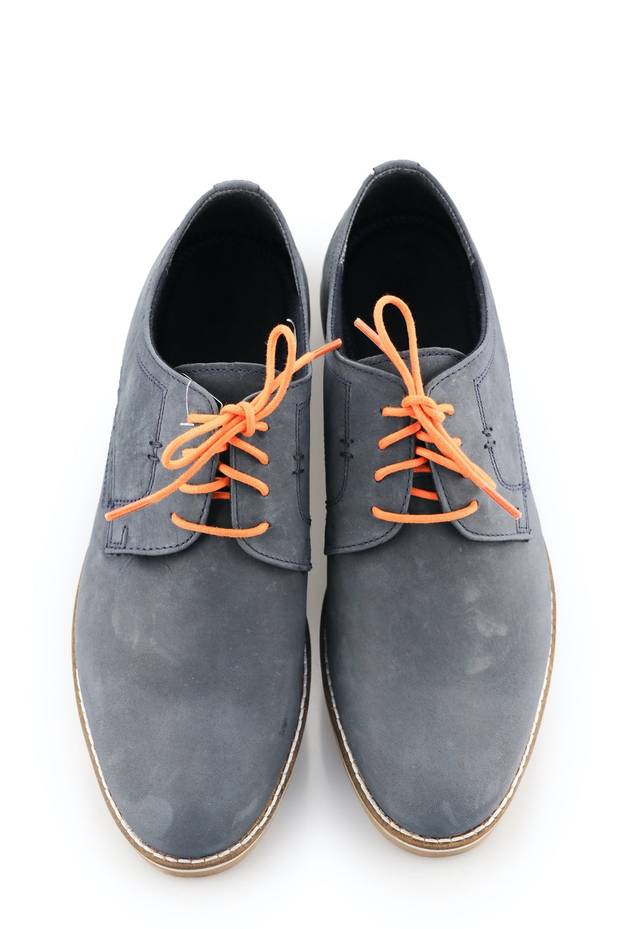 orange shoe laces tangello