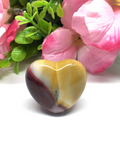 Mookaite Puff Heart # 21 - 30mm