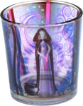 Goddess Printed Glass Votive