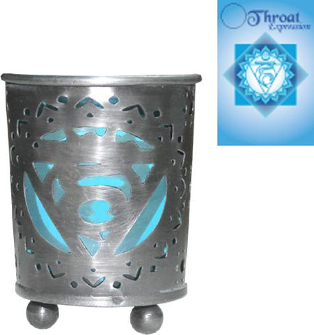 Blue (Throat Chakra) Votive