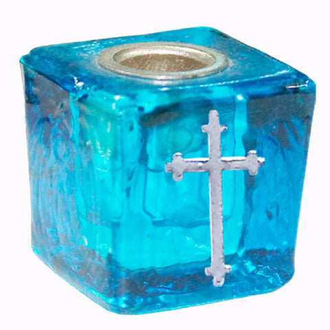 Cross Wish Candle Holder