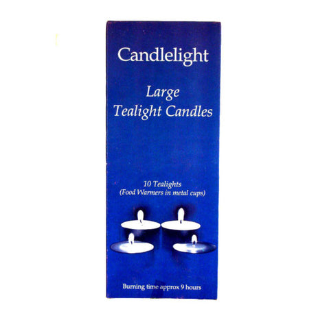 5 Hour Tealight Candles - 10 pack