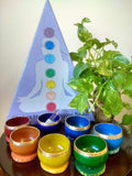 Chakra Healing Singing Bowls with Glass Stick
