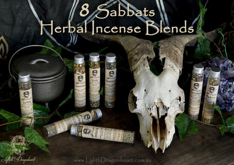Sabbot Herbal Incense Blends - Lyllith Dragonheart