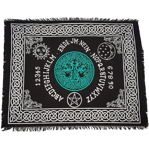 Celtic Spirit Board with Tree Of Life Altar Cloth