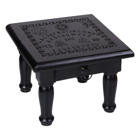 Spirit Board Altar Table with Drawer 30cm x 30cm x 24cm