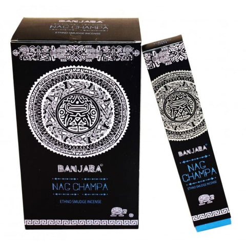 BANJARA Nag Champa Tribal Smudge Incense 15g