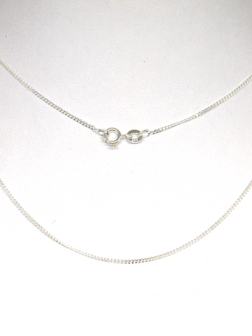 Curb Chain 925 Sterling Silver