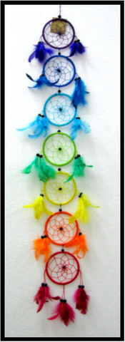 Chakra Dream Catcher 9cm