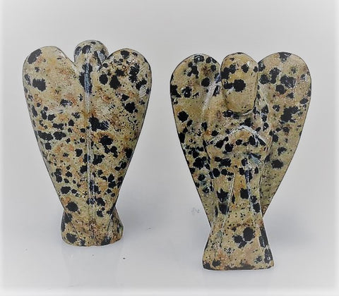 Dalmation Jasper Angel 5cm