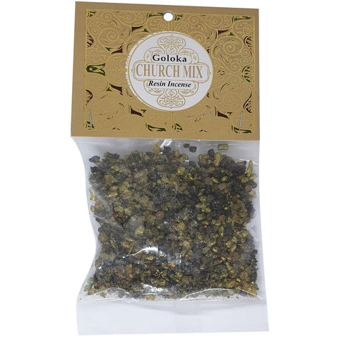 Goloka Church Mix Resin Incense 30g