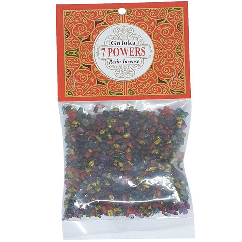 Goloka 7 Powers Resin Incense 30g