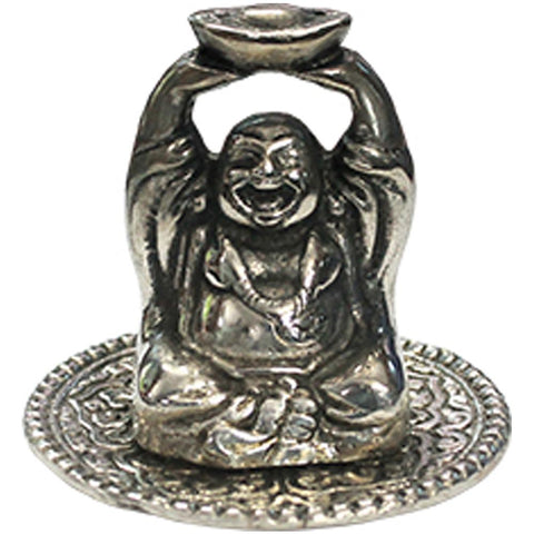 Happy Buddha Aluminium Stick Incense Holder