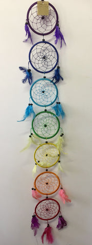 Chakra Dream Catcher 12cm