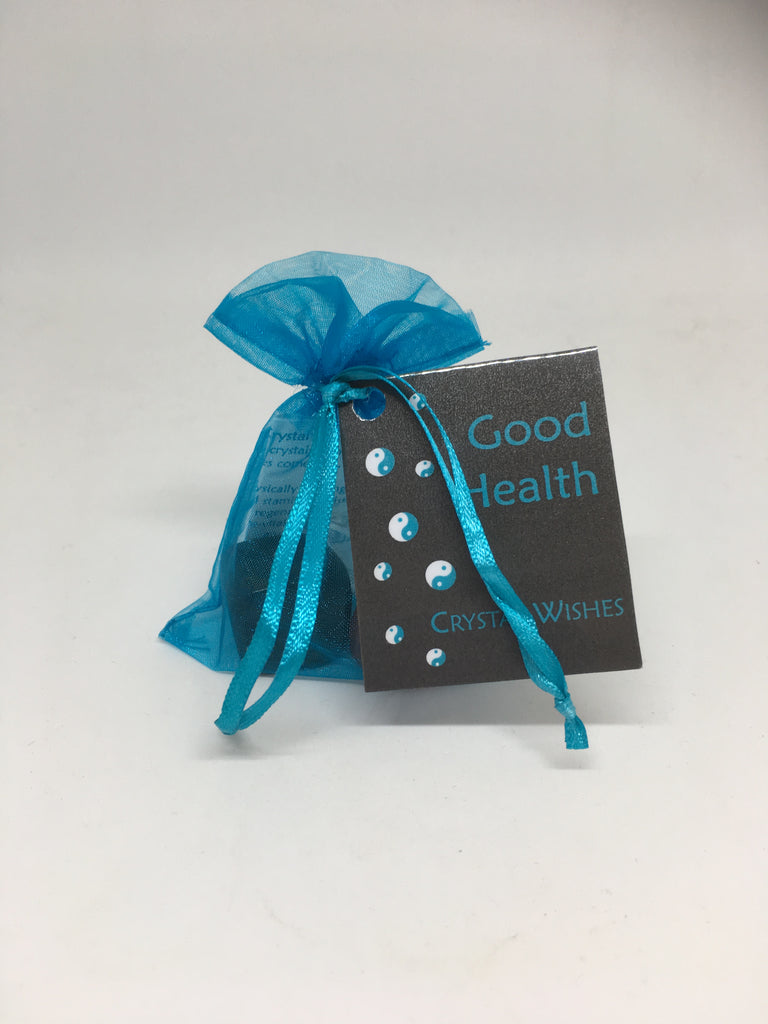 Good Health Crystal Wish Bag Wicked Crystals And Things