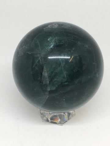 Green Fluorite Sphere # 48