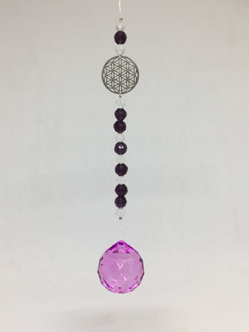 Flower of Life Charm Sun Catcher