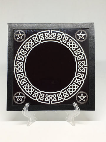 Glass Scrying Mirror