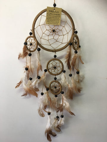 Brown Dream Catcher 12cm