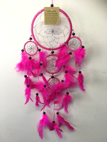Pink Dream Catcher 12cm