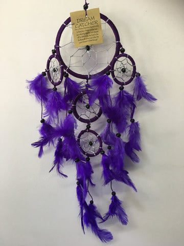 Purple Dream Catcher 9cm