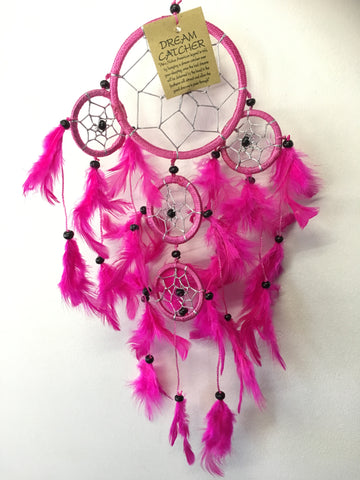 Pink Dream Catcher 9cm
