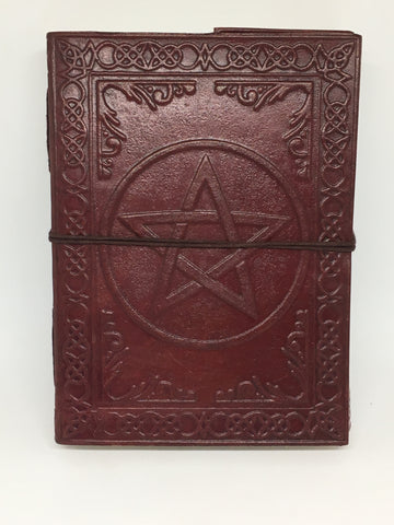 Pentagram Notebook/Journal/Book of Shadows - Medium