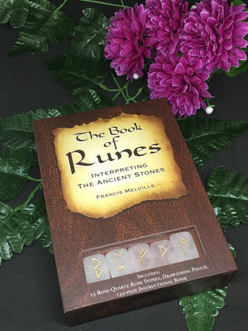The Book of Runes: Interpreting The Ancient Stones - Francis Melville