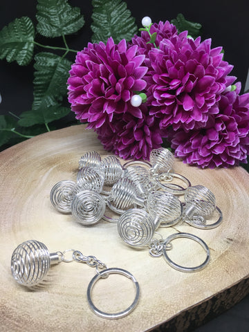 Metal Cage Key Rings