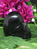 Black Obsidian Skull 45mm - #110