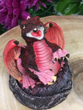 Smoking Dragon Cone Burner - Red