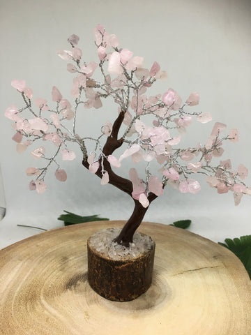 Rose Quartz Gem Tree 160 Beads