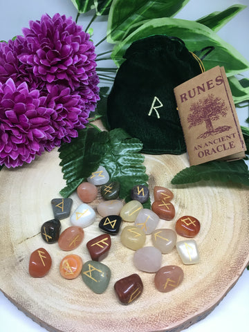 Runes Assorted Gemstones
