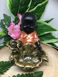 Monk Incense Backflow Cone Burner