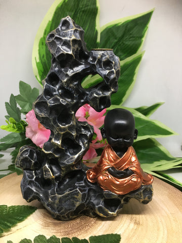 Monk Incense Backflow Burner
