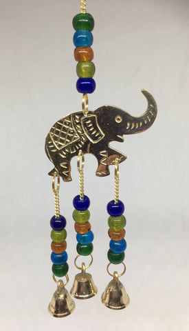 Elephant Brass Bells Hanger