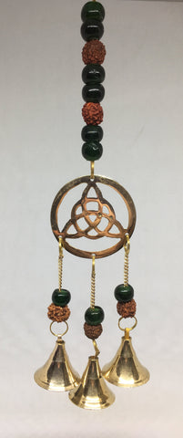 Triquetra with Rudrakash Brass Bells