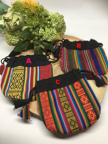 Tibetan Cotton Drawstring Pouch