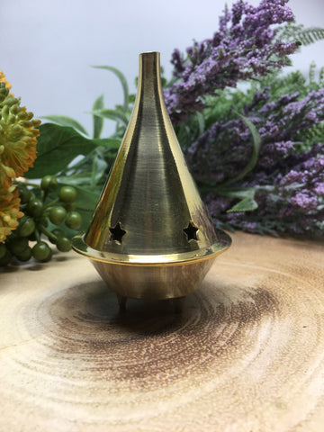 Brass Dhoop / Cone Burner - Large 9cm