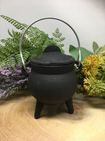 Cast Iron Plain Cauldron 7cm