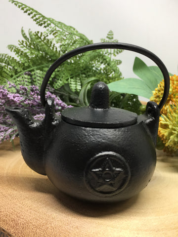 Pentacle Kettle Cauldron