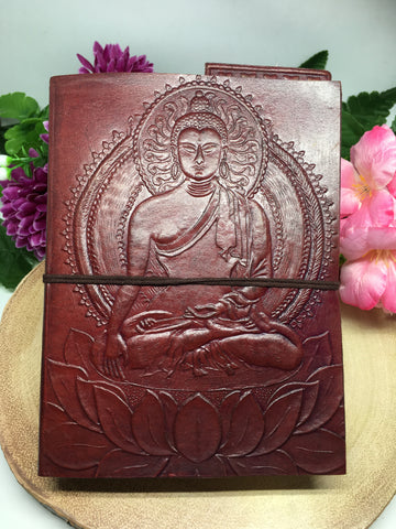 Buddha Notebook / Journal / Book Of Shadows - Medium