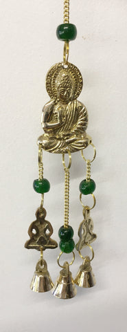 Buddha with Brass Bells