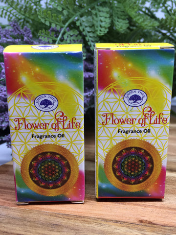 GREEN TREE Flower Of Life Fragrance Oil