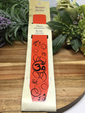 Orange Om Incense Holder