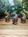 Penguin Soapstone Carving