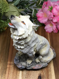 Howling Wolf Statue