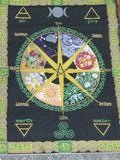 Pagan Calendar Wall Hanging